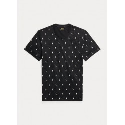 POLO RALPH LAUREN T-Shirt Pony stampa Allover
