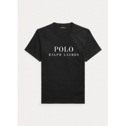 POLO RALPH LAUREN T-Shirt Stampa Logo Black